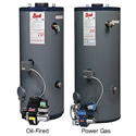 Bock Power Gas and Oil Fired Water Heater